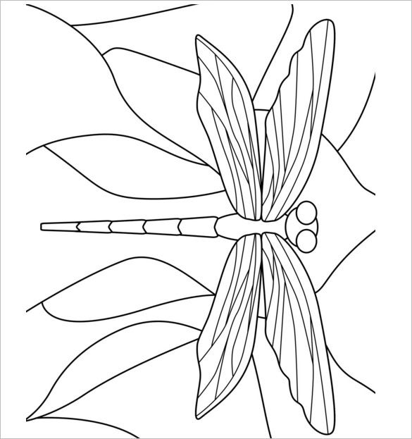 18+ Dragonfly Templates, Crafts & Colouring Pages | Free ...