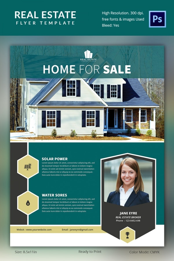 Real Estate Promotion Flyer