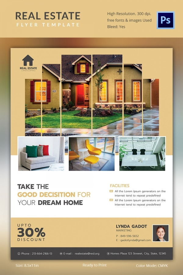 Commercial Real Estate Flyer Template