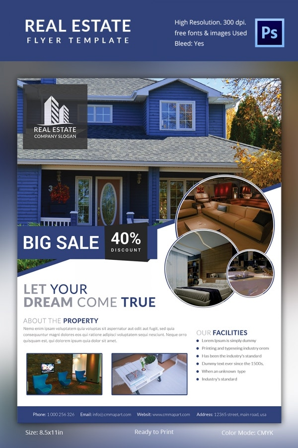 Best Buy Real Estate Flyer Template