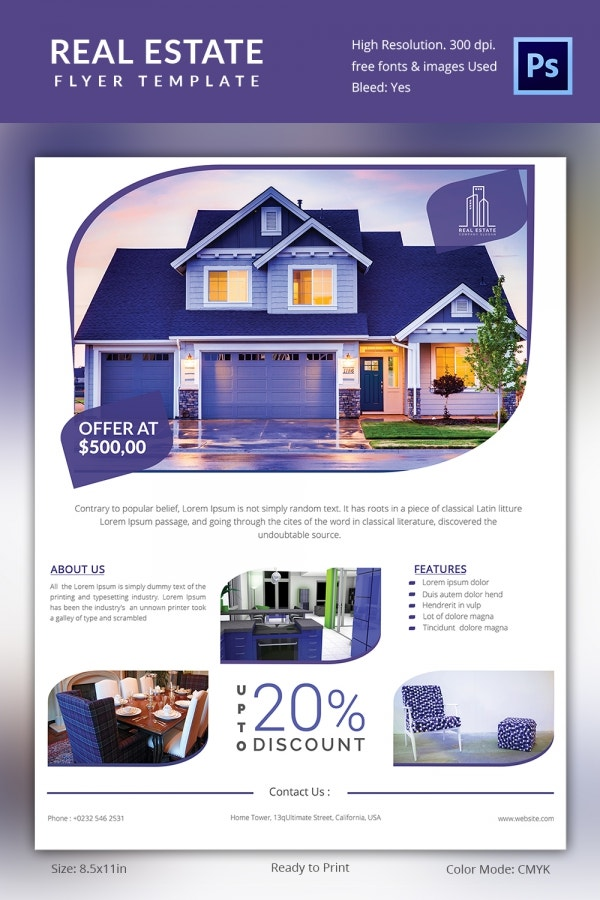 Residential Property Real Estate Flyer