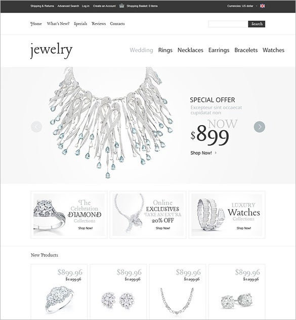 swell jewelry oscommerce template
