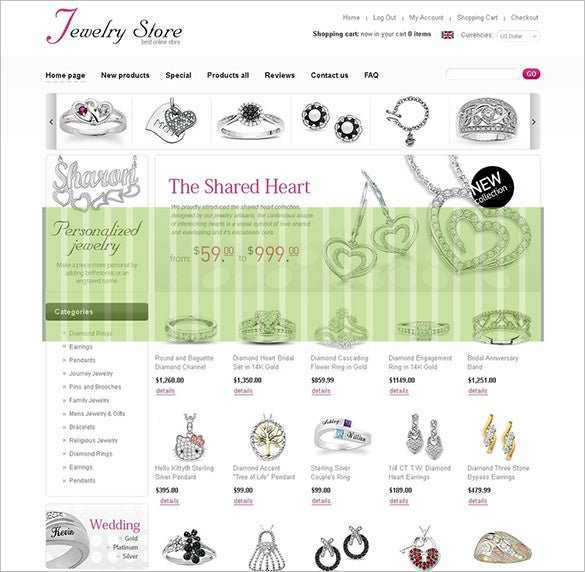 royal jewelry oscommerce template