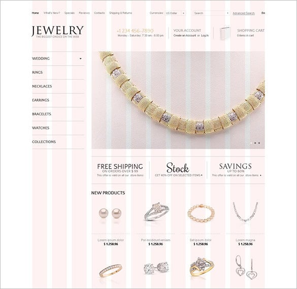 the noblest jewels oscommerce template