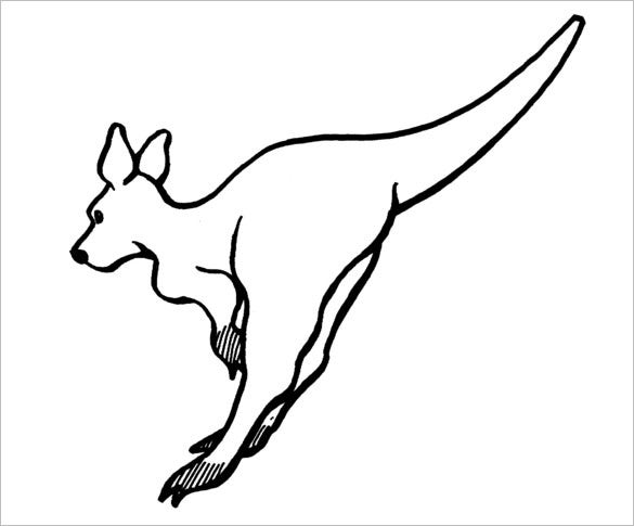 Kangaroo template related keywords kangaroo template for Kangaroo puppet template