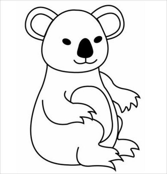 21 Koala Templates Crafts Colouring Pages Free Premium Templates