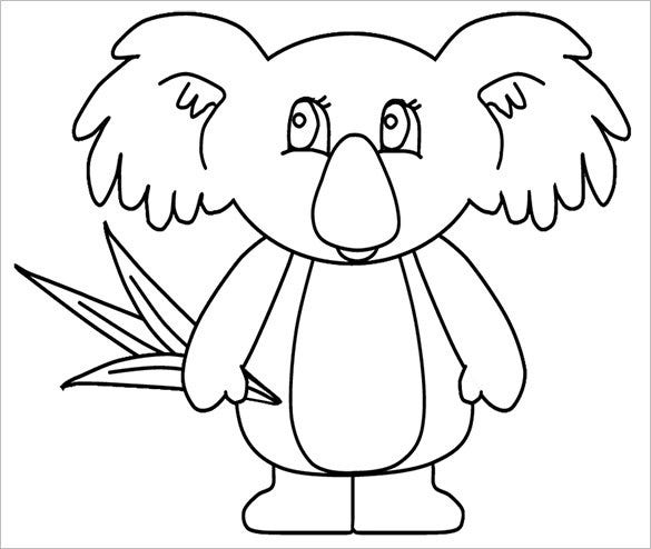 12 Koala Templates Crafts Colouring Pages Free Premium Templates