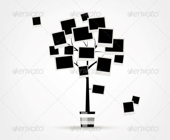 photo family tree sample template download
