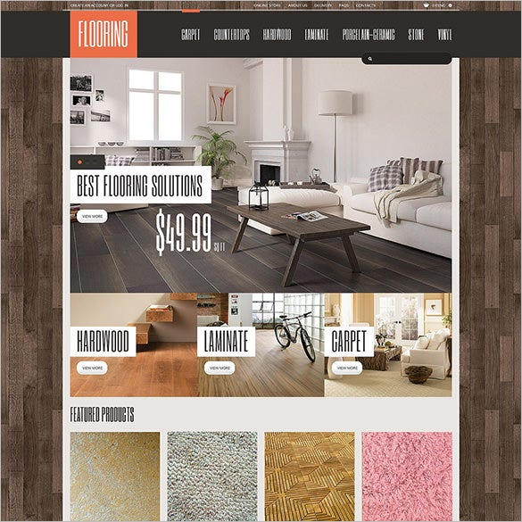 interior flooring design virtuemart template