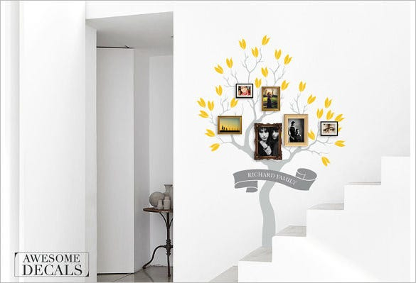 photo family tree template format download