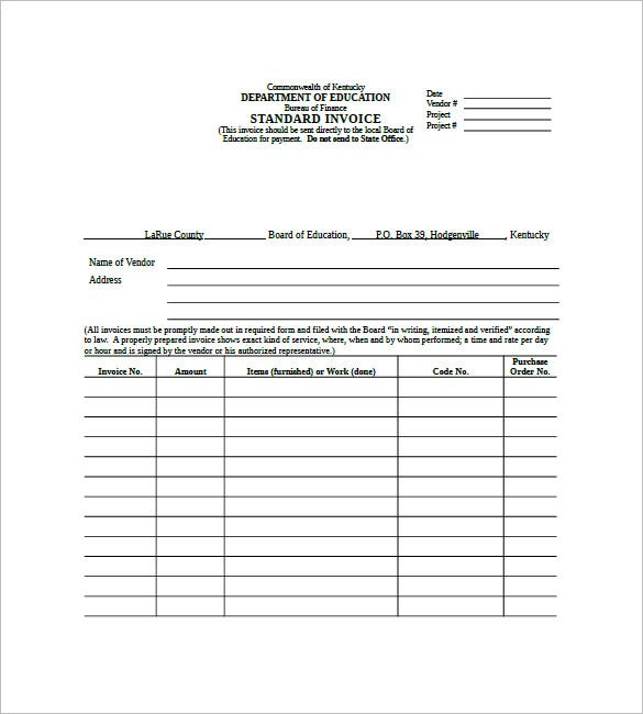 Coachoutletonlineplusus  Prepossessing Standard Invoice Template   Free Word Excel Pdf Format  With Great Australian Standard Invoice Template With Beautiful Invoice Template Samples Also Gst On Invoices In Addition Commision Invoice And Example Of Invoice For Services Rendered As Well As Virtuemart Invoice Additionally Project Management And Invoicing From Templatenet With Coachoutletonlineplusus  Great Standard Invoice Template   Free Word Excel Pdf Format  With Beautiful Australian Standard Invoice Template And Prepossessing Invoice Template Samples Also Gst On Invoices In Addition Commision Invoice From Templatenet