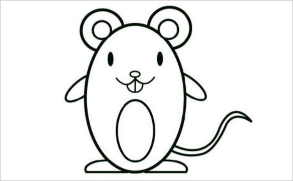 14 mouse templates crafts colouring pages pdf jpg free cute mouse template maxwellsz