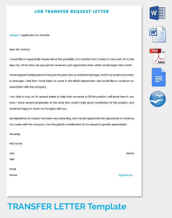 39 transfer letter templates free sample example for Transfer pricing policy template