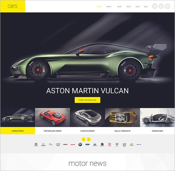cars joomla template