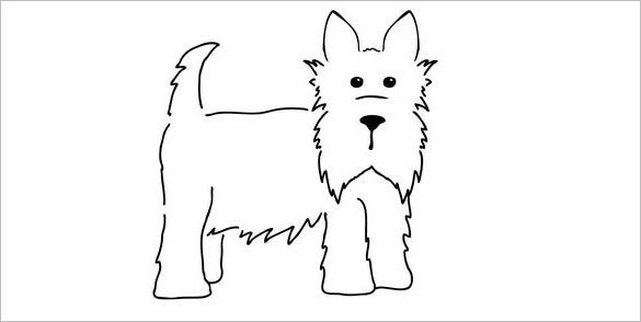 15 Scottie Dog Templates Crafts Amp Colouring Pages Free