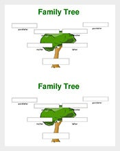 Family Tree Template – 125+ Free Sample, Example, PDF Format ...