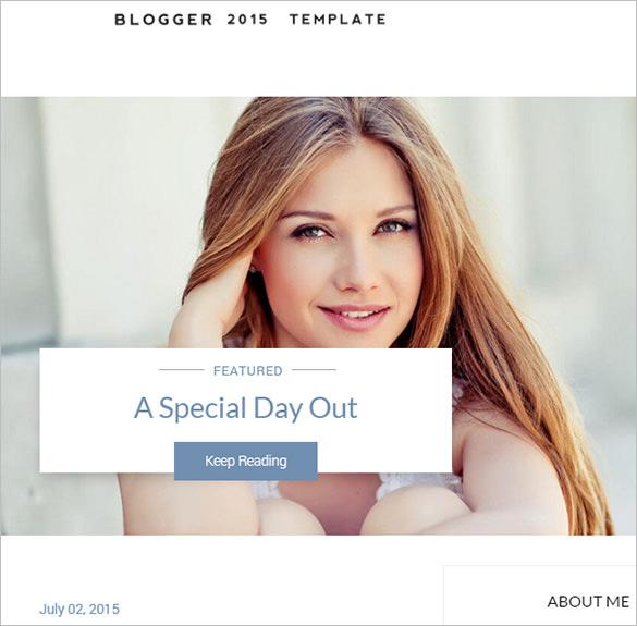 elegance responsive blogger template