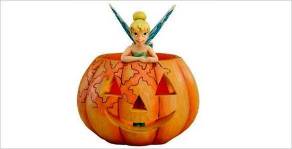 tinkerbell pumpkin color template