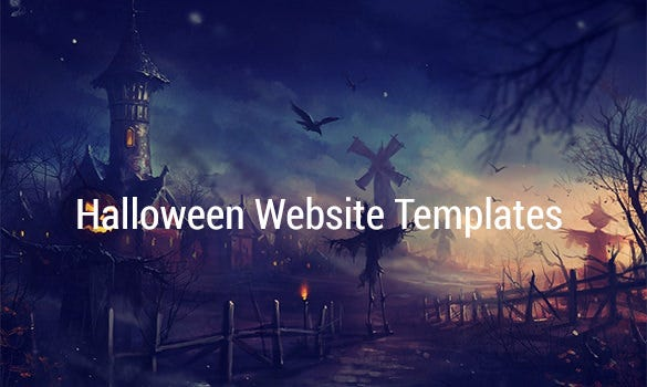 Halloween-Website-Templates