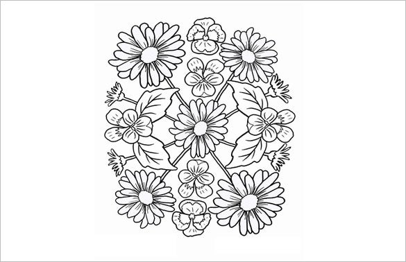 18 Mandala Coloring Pages Free Word PDF JPEG PNG