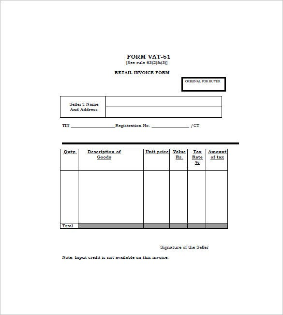 Opportunitycaus  Unique Retail Invoice Template   Free Word Excel Pdf Format Download  With Heavenly Blank Pdf Retail Invoice Form With Endearing Sales Receipt Store Also General Receipt Template In Addition Tenant Receipt And Usps Certified Return Receipt Rates As Well As Free Online Receipt Template Additionally How To Do A Receipt From Templatenet With Opportunitycaus  Heavenly Retail Invoice Template   Free Word Excel Pdf Format Download  With Endearing Blank Pdf Retail Invoice Form And Unique Sales Receipt Store Also General Receipt Template In Addition Tenant Receipt From Templatenet