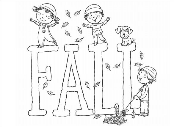 fall coloring pages pdf 20+ Fall Coloring pages   Free Word, PDF, JPEG, PNG Format  fall coloring pages pdf