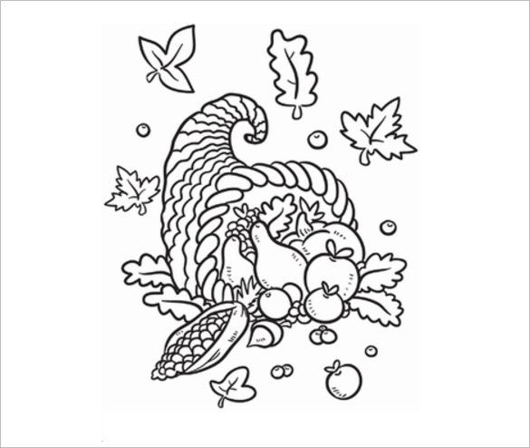 20 Fall Coloring pages Free