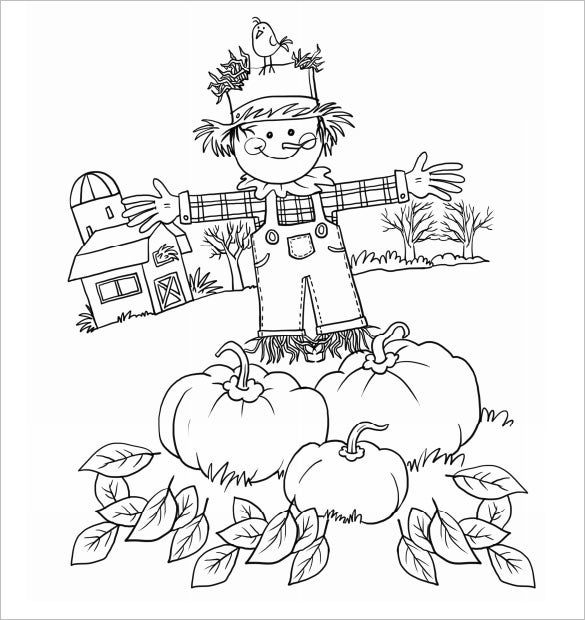20 Fall Coloring Pages