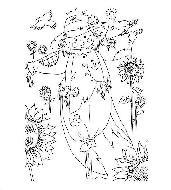 20 Autumn Coloring Pages Free Word Pdf Jpeg Png Format