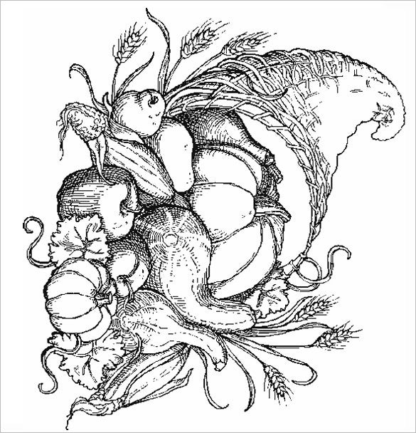 21 Autumn Coloring Pages Free Word PDF JPEG PNG Format