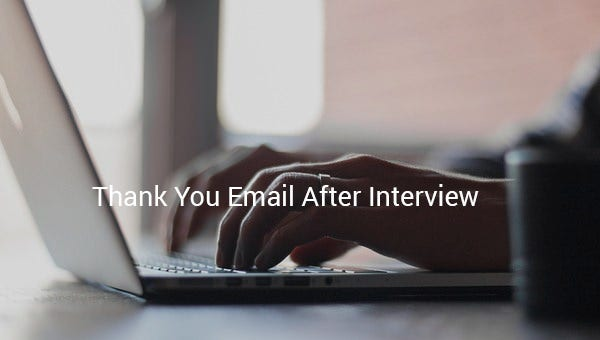thankyouemailafterinterview