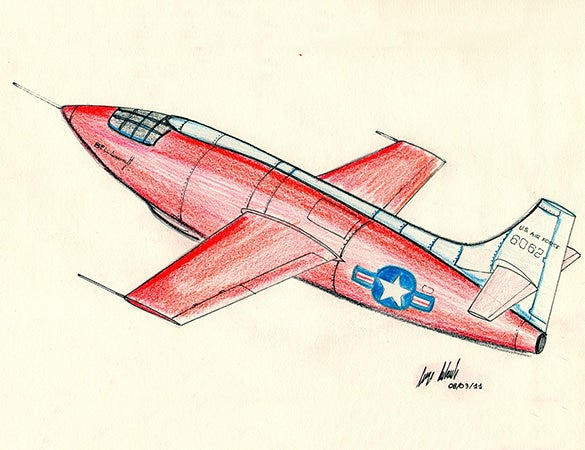 awesome toy plane drawing