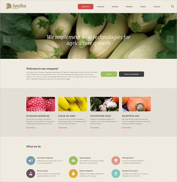 splendid agricuture zencart website template