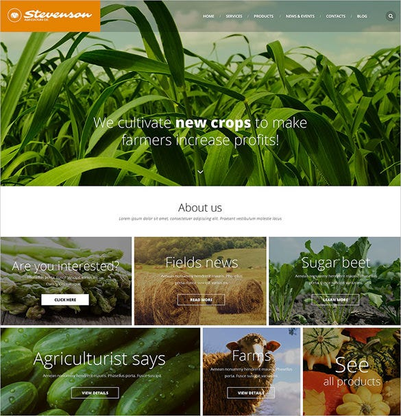 crop zencart website theme