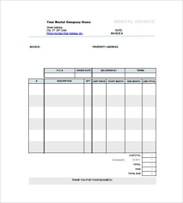 Car Invoice Template Free Sample Example Format Download - Auto parts invoice template
