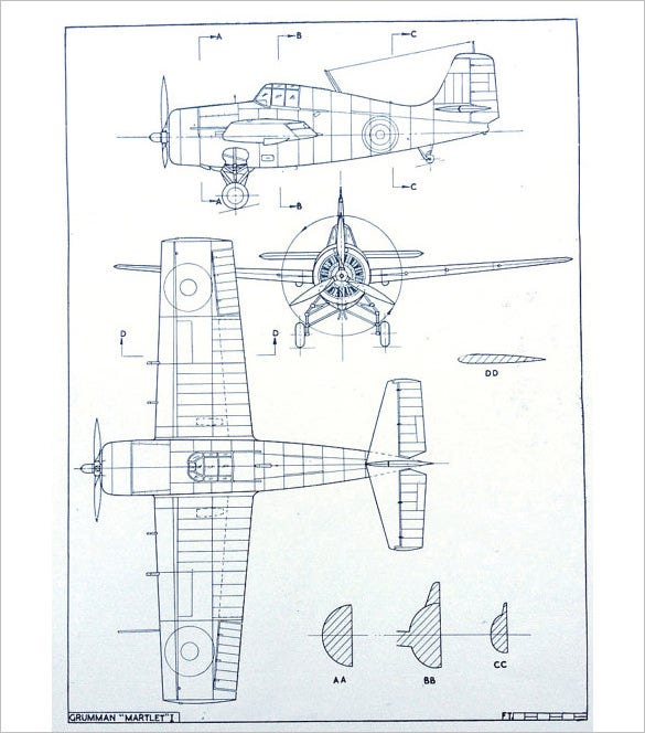 carrier fighter aircraft drawing