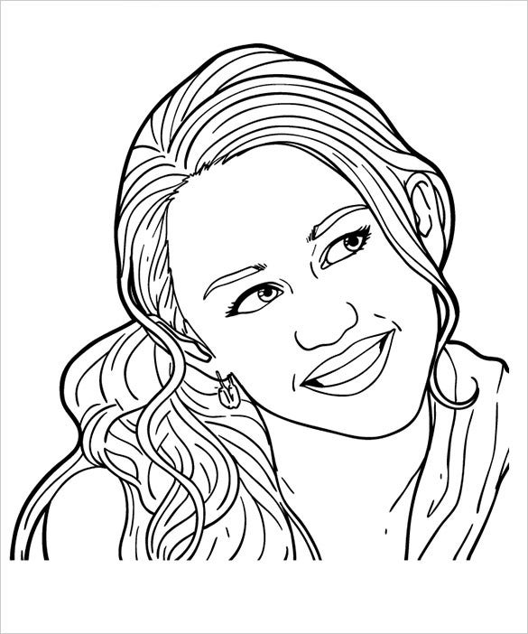 20+ Teenagers Coloring Pages - PDF, PNG | Free & Premium ...