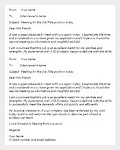 Thank You Email After Interview 40 Free Sample Example Format
