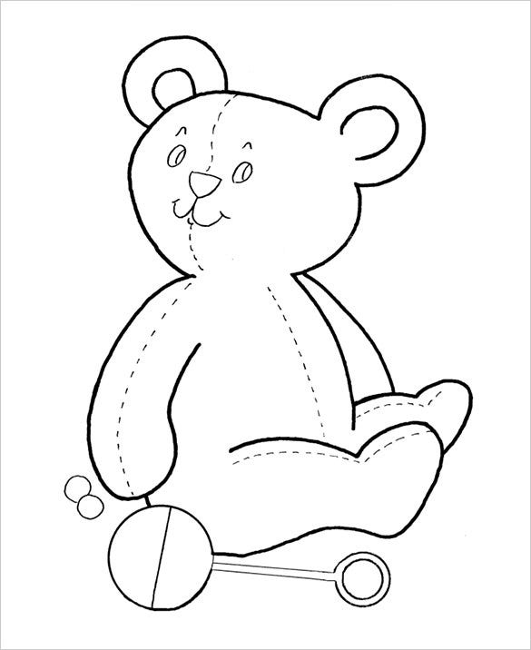 20+ Preschool Coloring Pages - Free Word, PDF, JPEG, PNG ...
