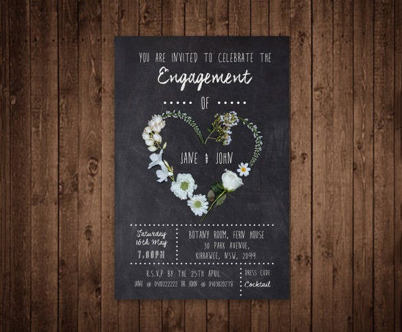 Invitation Template 37 Free Printable Word PDF PSD Publisher – Format of Engagement Invitation