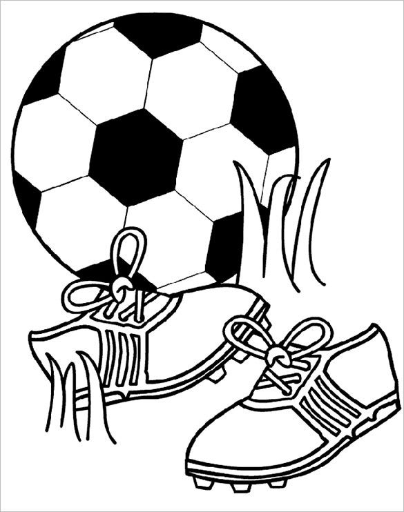 21 Football Coloring Pages Free Word PDF JPEG PNG Format