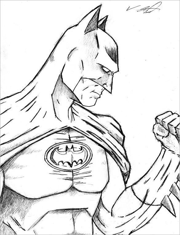original batman drawing download