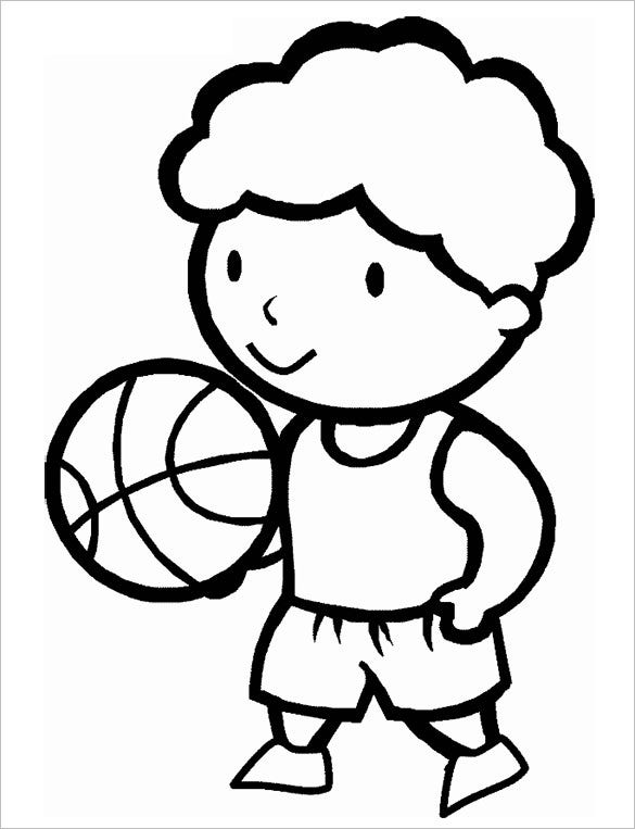 19+ Basketball Coloring Pages - PDF, JPEG, PNG | Free & Premium ...
