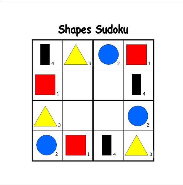 kindergarten shapes lesson plan free word download