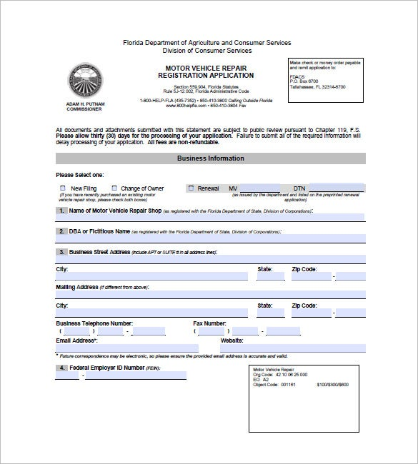 Auto Mechanic Job Application Form Heartimpulsarco - Auto repair invoice template word plus size online stores