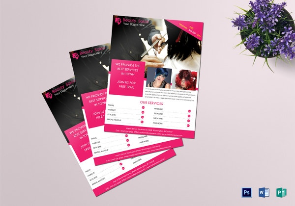 Multipurpose Beauty Salon Flyer Template