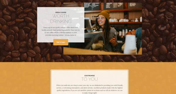 business casual bootstrap website template