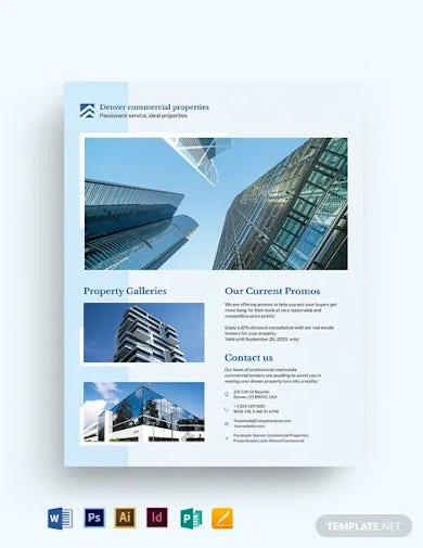 commercial real estate flyer template2