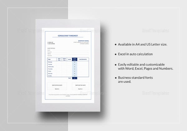 consultant-timesheet-template