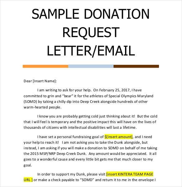 Donation request letters solarfm non profit donation request letter template donation thecheapjerseys Images